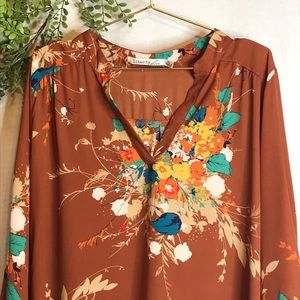 Liberty Love | Floral Blouse Top| XL